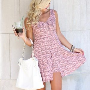 Other - Floral Skirt, Romper